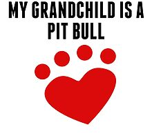 My Grandchild Is A Pit Bull by kwg2200