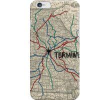Terminus Map iPhone Case/Skin