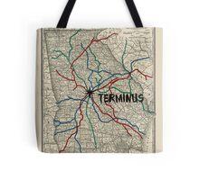 Terminus Map Tote Bag