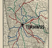 Terminus Map by Zeke Tucker