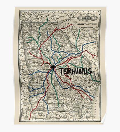 Terminus Map Poster