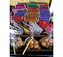 Comic Abstract Coffee Shop Tea Display Photographic Print