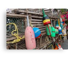 Buoys Canvas Print