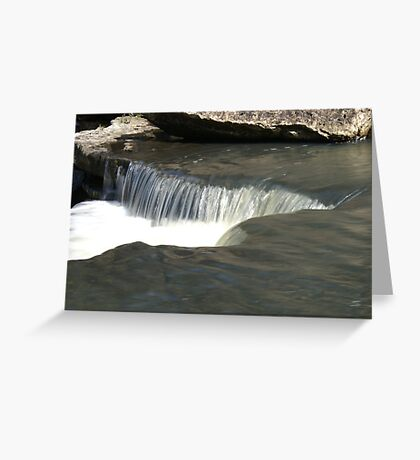 Crack in the Earth.. Greeting Card