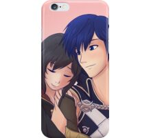 Chrom x F!Robin (Brown Hair) iPhone Case/Skin
