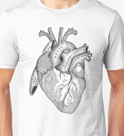 Study of the Heart Unisex T-Shirt