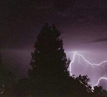 Lighting storm by rhysy