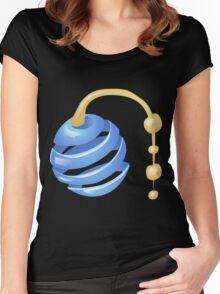 Glitch Wardrobia mental item 13 w1 Women's Fitted Scoop T-Shirt