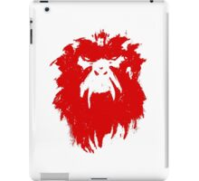12 Monkeys - Terry Gilliam - Wall Drawing Red iPad Case/Skin