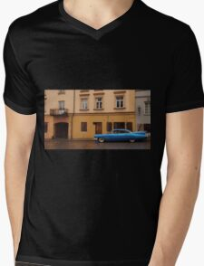 1959 Cadillac Eldorado in Old Town. Mens V-Neck T-Shirt