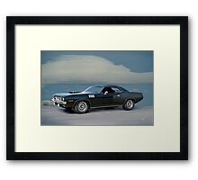 1971 Plymouth Barracuda 'HemiCuda' Framed Print