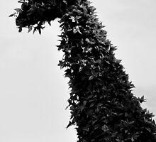 giraffe topiary by barmalisiRTB