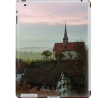 Misty Morning in Oberstammheim iPad Case/Skin