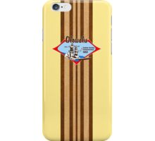 Tandem Surfing Hawaiian Vintage Surf Design  - Yellow iPhone Case/Skin