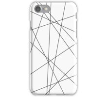 graphic lines (phone case) iPhone Case/Skin