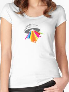Colour invaders Women's Fitted Scoop T-Shirt