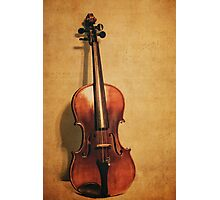 Violin Solo Photographic Print