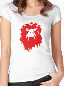 12 Monkeys - Terry Gilliam - Wall Drawing Red Women's Fitted Scoop T-Shirt