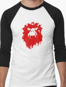 12 Monkeys - Terry Gilliam - Wall Drawing Red Men's Baseball ¾ T-Shirt