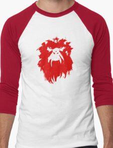 12 Monkeys - Terry Gilliam - Wall Drawing Red Men's Baseball ¾ T-Shirt