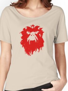 12 Monkeys - Terry Gilliam - Wall Drawing Red Women's Relaxed Fit T-Shirt