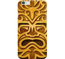 Stylish Stone Mayan Mask iPhone Case/Skin