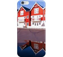Modern classical design summer houses with reflection iPhone Case/Skin