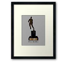 MVP Trophy / Smile Design 2014 Framed Print