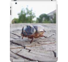 Large horned bug iPad Case/Skin