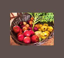 Organic healthy vegetables and fruits digital art Unisex T-Shirt