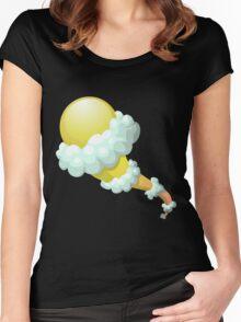 Glitch Wardrobia mental item 21 w1 Women's Fitted Scoop T-Shirt