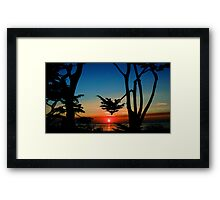 #244   Scenic & 8th Framed Print