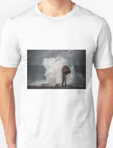 White wave splash Unisex T-Shirt