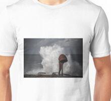 White wave splash Unisex T-Shirt