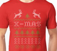 X-mas ugly shirt design Unisex T-Shirt