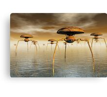 They're Coming Canvas Print