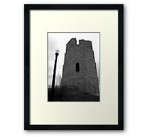 Water Tower BW Framed Print