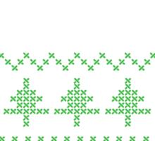 Regift ugly Christmas present II Sticker