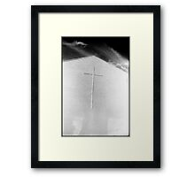 Desert Church Framed Print