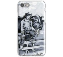 Learning to Love on the Pasture  iPhone Case/Skin
