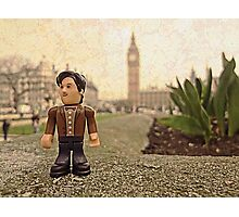 Dr Who at Big Ben Photographic Print