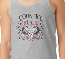 COUNTRY GAL, LOMPOC HORSESHOE PITCHING Tank Top