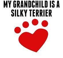 My Grandchild Is A Silky Terrier by kwg2200
