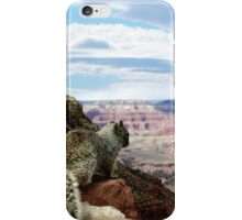 Squirrel Overlooking Grand Canyon iPhone Case/Skin