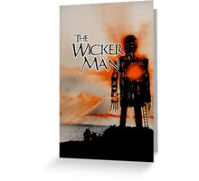 An Appointment With the Wicker Man Greeting Card