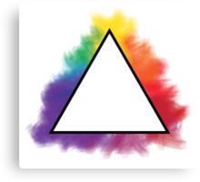 Rainbow Triangle Canvas Print