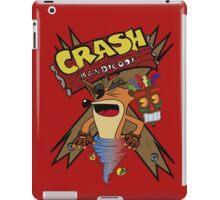 Old Timey Crash Bandicoot iPad Case/Skin