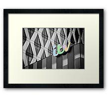 Colour TV Framed Print