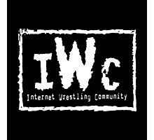 IWC - Internet Wrestling Community Photographic Print