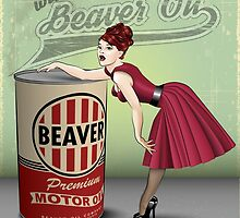 Beaver Oil - Keep your 'rod lubed! by Neal Wollenberg